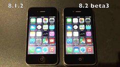 Comparativa de rendimiento en un iPhone 4S con iOS 8.1.2 y iOS 8.2 beta 3
