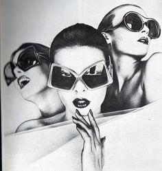 Jours de France ad for eyewear, 1973.