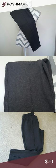 Lilly Pulitzer Dark Grey Pleated Travel Pants Lilly Pulitzer brand in a size Large. These Pleated stretchy pants are a great mix of pants and leggings. They are great for traveling  (and packing), casual wear, or dressing up for work. They have a stretchy waistband and pleats. Only worn a few times, handwashed, and hung dried. These are great career pants while staying comfy! Smoke free home and fast shipping. Thank you for checking out my closet. Lilly Pulitzer Pants