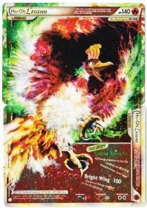 Amazon.com: Ho-Oh Legend (Full - Top and Bottom) Pokemon Card - HeartGold SoulSilver #111...: Toys & Games $17.99