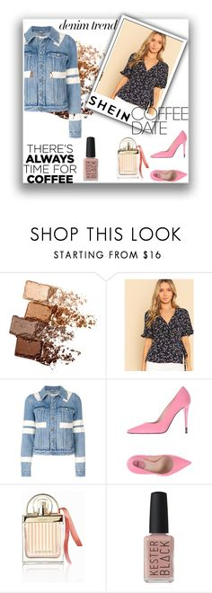 """""""HG products"""" by lader ❤ liked on Polyvore featuring Maybelline, Givenchy, Fendi, Chloé and Kester Black"""
