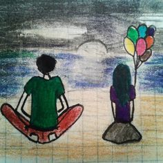 #disegno #love #amore #hope #speranza #palloncini #drawing #paint