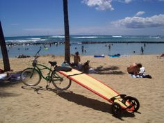 SUP Transport System MULE | Paddle board bike transporter