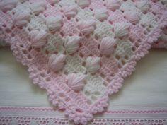 Manta niña precioso nuevo mano Crocheted por DEMET en Etsy