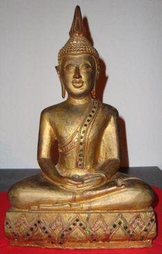 Sitzende Buddhafigur - Thailand