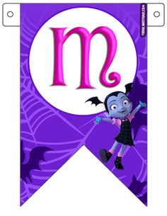 Vampirina Candy Bar para Descargar e Imprimir Gratis | Todo Candy Bar Halloween Letters, Ladybug, Birthday, Party, Fictional Characters, Witches, Printable Tags, Free Printable, Birthday Bunting