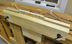 Building Low Cost Moxon Vise by Will Myers