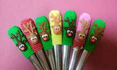Christmas Crafts For Gifts, Craft Gifts, Clay Projects, Spoons, Objects, Pasta, Craft Ideas, Education, Mugs