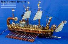Across the wine-dark sea in his swift, curved-hull ship