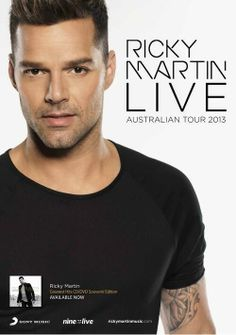 Ricky Martin: Australian Tour Announcement! @Ricky Martin #rickymartin #rmtourAU2013