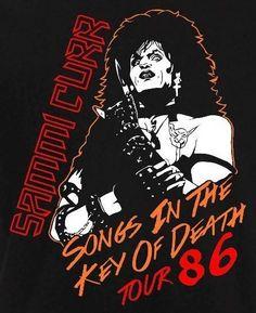 Trick or Treat Trick Or Treat 1986, Trick Or Treat Movie, Horror Movie Posters, Concert Posters, Horror Movies, Glam Metal, Metal Art, Kiss Rock Bands, Halloween Tombstones