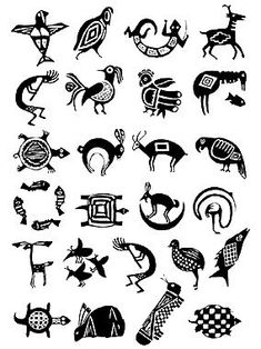 Possible stamp ideas. Native Symbols, Indian Symbols, Native American Symbols, Native American Design, Native Design, American Indian Art, Native Art, Arte Tribal, Tribal Art