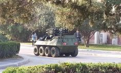 blindato mini ATV versone supporto di fuoco