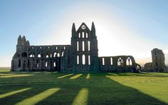 I miss you....Whitby Abbey, Whitby  Hopefully we will be able to go again soon.