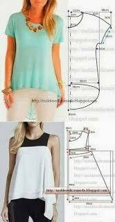 Jean Top Customised Clothes Blouse And Skirt Sewing Patterns Clothing Patterns Teacher Outfits Fashion Outfits Womens Fashion Pattern Fashion Fashion Sewing, Diy Fashion, Ideias Fashion, Fashion Outfits, Blouse Patterns, Clothing Patterns, Blouse Designs, Bag Patterns, Diy Clothing
