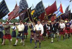 The Highland Games  Dancing Wands for girls/Banners for boys...