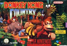 Best video game ever! Donkey Kong Country!