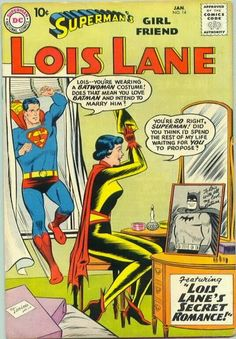 Superman Fan Podcast Episode #292 Part I: Superman Family Comic Book Cover Dated January 1960: Superman's Girl Friend Lois Lane #14! http://thesupermanfanpodcast.blogspot.com/2014/01/episode-292-part-i-superman-family.html