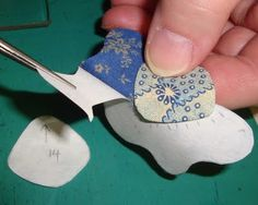 FABRIC THERAPY: Glue stick applique, the tutorial: PART TWO...