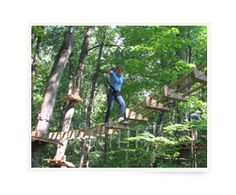 Sky High Aerial Adventure Park, Holiday Valley Resort, Ellicottville NY #hiking #climbing #places #new #york #ellicottville #amusement #parks