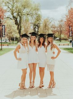 there is something so special about getting your close friends together and celebrating your college graduation with a fun portrait session! Couple Graduation Pictures, Graduation Picture Poses, Graduation Portraits, Graduation Photography, Graduation Photoshoot, Grad Pics, Graduation Pics, Nursing Graduation, Senior Photo Outfits