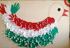 Bird Crafts, Animal Crafts, Diy And Crafts, Crafts For Kids, Arts And Crafts, Paper Crafts, Independence Day Activities, Independence Day Decoration, School Board Decoration