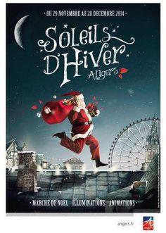 #Angers à Noël, c'est magique ! Illuminations, marché de Noël, grande roue, sentier de glace, service sur mesure...