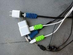 Paracord Charging Cable Joints Reinforcement