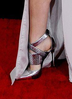Gammy Awards shoes — Anna Kendrick's Barbara Bui heels