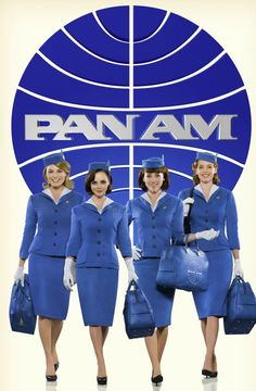 Pan Am, a great new show! I love period movies and shows. The fashion and decor is fantastic.
