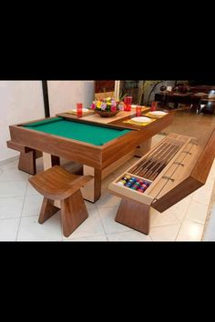 Pool/dining table