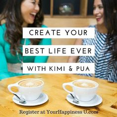 Need some #motivation #inspiration and renewed #focus  #energy for the #Summer? Join us this coming Saturday 5/28 at 2pm for our Best Life Ever class at #Happiness U the happiest place in #Hawaii! Register at yourhappinessu.com #bestlifeever #kimiandpua #happinessu #productivity #joy #ease