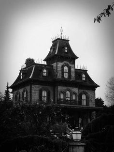 Phantom Manor (The Haunted Mansion) at Disneyland Paris.  Each of these buildings are so beautiful