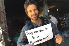 From Santi's Twitter ~ Santiago filming new Transformers film The Last Knight ~ July 2016