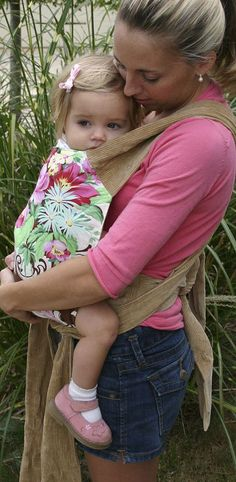 Mei Tai Baby Carrier Sewing Pattern