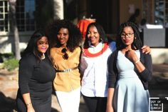 OUR SPECIAL GUESTS:FROM LEFT EVE BODIRWA(OWNER&MANAGINGDIRECTOR) NONHLANHLA MDLULI(SINGER) BONGI DAMANS(SINGER) AND MIRA