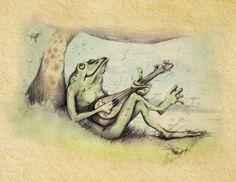 Day Dreaming by Heath Poole, via Behance
