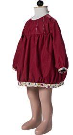 Physalis Blousette rose balloon dress pattern