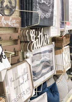 Best things to Buy at Hobby Lobby Hobby Lobby Decor, Stained Concrete, Cool Things To Buy, Stuff To Buy, Home Improvement Projects, Home Remodeling, Cheap Renovations, Farmhouse Decor, Rustic Decor