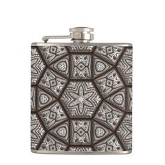 Engraved 1 Wrapped Flask