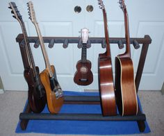 5 guitar stand out of pvc guitar stand guitar and diy and crafts. Black Bedroom Furniture Sets. Home Design Ideas