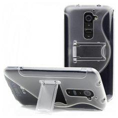 OEM Πλαστική Θήκη Στήριξης S Line Plastic Stand Case Διάφανο (LG G2) - myThiki.gr - Θήκες Κινητών-Αξεσουάρ για Smartphones και Tablets - Χρώμα διάφανο Suitcase, Cases, Briefcase