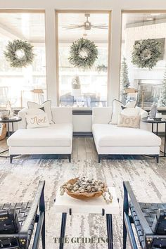 I wanted a wreath not just for my front door, but also for other areas of my home because they are so stunning. I am so happy I found this one!! Christmas Wreaths For Windows, Outdoor Christmas Decorations, Diy Christmas, Merry Christmas, Family Room Decorating, Decorating Ideas, Decor Ideas, Exterior Remodel, French Farmhouse