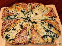 Пирог со шпинатом и брынзой очень популярный в наших краях. Пирог с брынзой и шпинатом – классический кулинарный дуэт, который был проверен многими нациями и поколениями. Пирог с брынзой и шпинато…