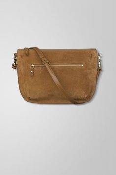 Bag ONA suede leather one outer zip-pocket one inner-pocket 7e6d6b8b33e84