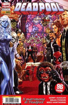 Deadpool si sposa! Deadpool 2015-14 #Deadpool #Marvel #PaniniComics