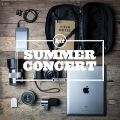 Kit spécial concert | Summer Concert Photography Essentials