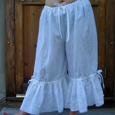 Bloomers - adorable as summer pants on their own, but also perfect under dresses for added modesty and play-friendlines.