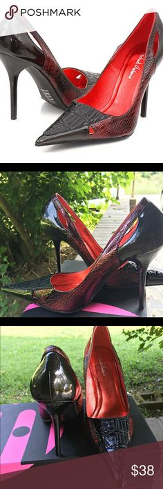 😍Michael Antonio Sycamore Stiletto Heels😍 🚨🚨Great condition, pointy toe, pencil thin stiletto heel, 4 inch heel, lightly padded insoles & NEVER been worn !!!! 🚨🚨 Michael Antonio Shoes Heels