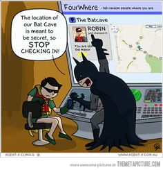 Robin gets a smartphone…